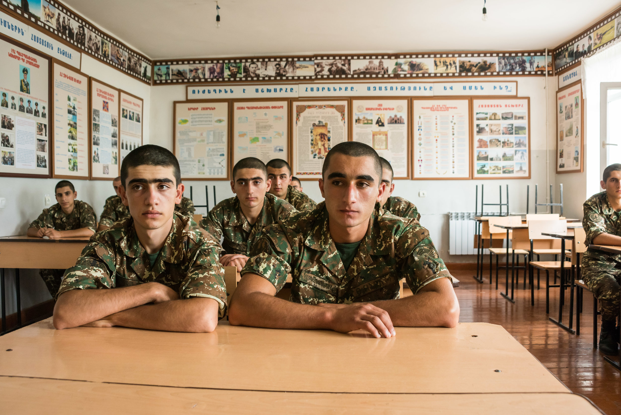 While these recruits are preparing to defend their homeland, they all have plans for their future and the future of Artsakh.      Their aspirations are diverse, from lawyer to programmer to vintner, they will contribute to the growth and success of the country.