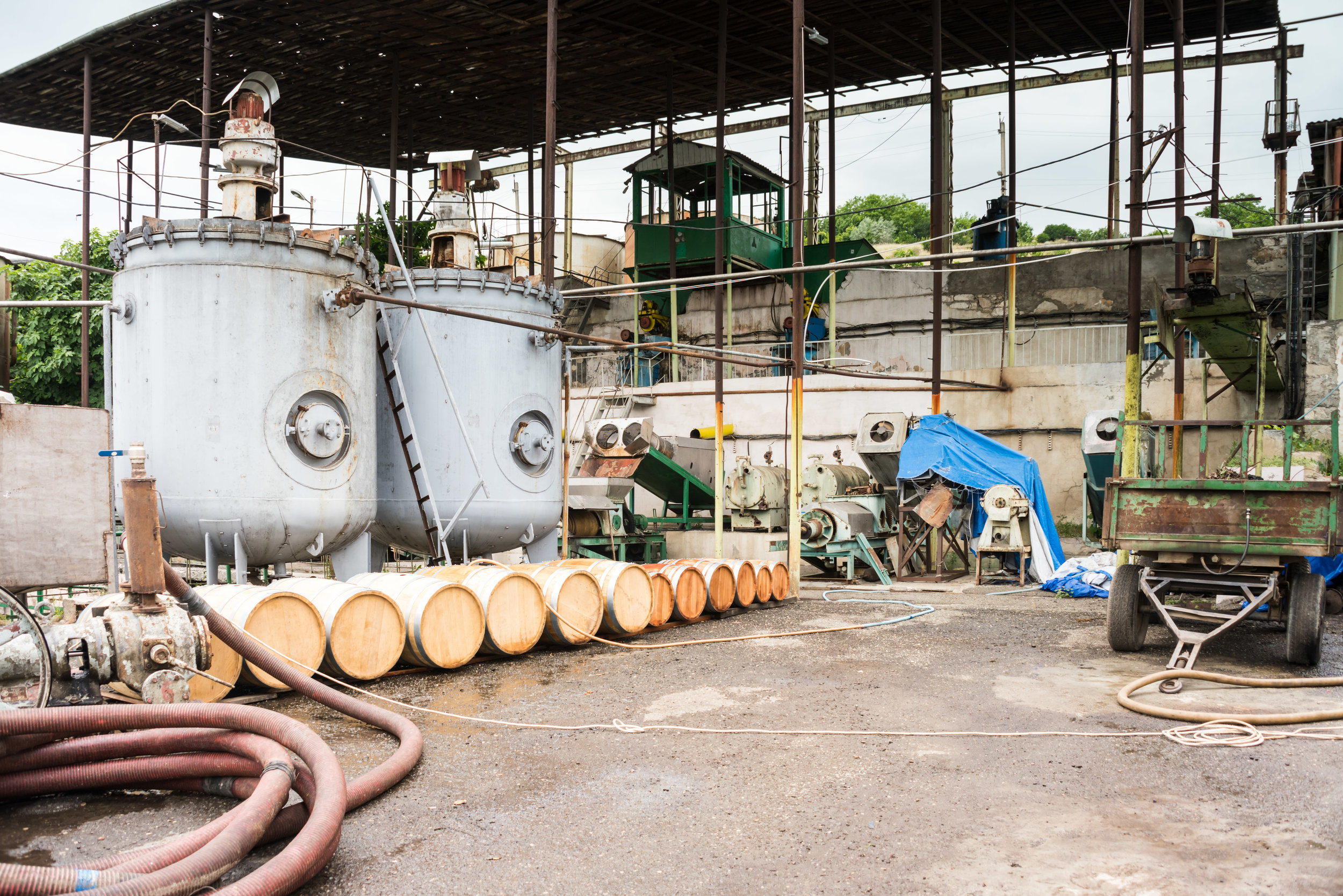 Modern technology meets age-old artisan tradition at the Artsakh Brandy Factory