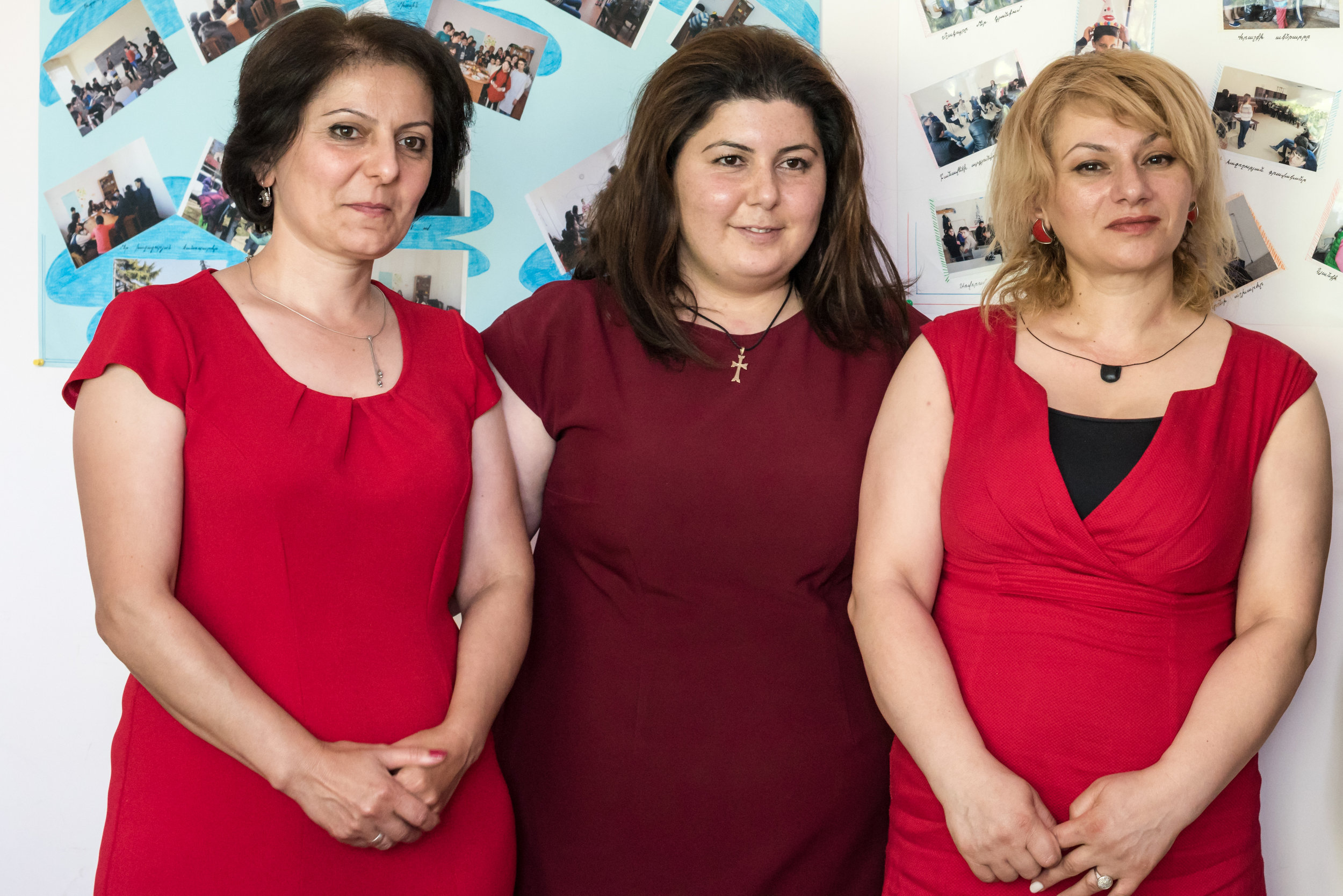 Therapists at the Community Social Services Center, Berd, Armenia, are working to help individuals and families in need and to improve society.