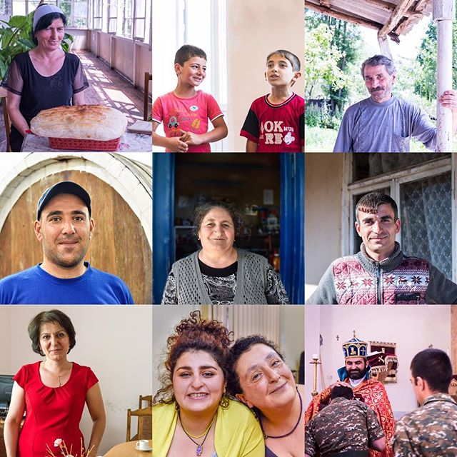 So many beautiful people have shared their stories with us in the 3 years we've been working in Armenia. We're grateful for their kindness, hospitality and friendship. Wishing you blessings in the New Year.