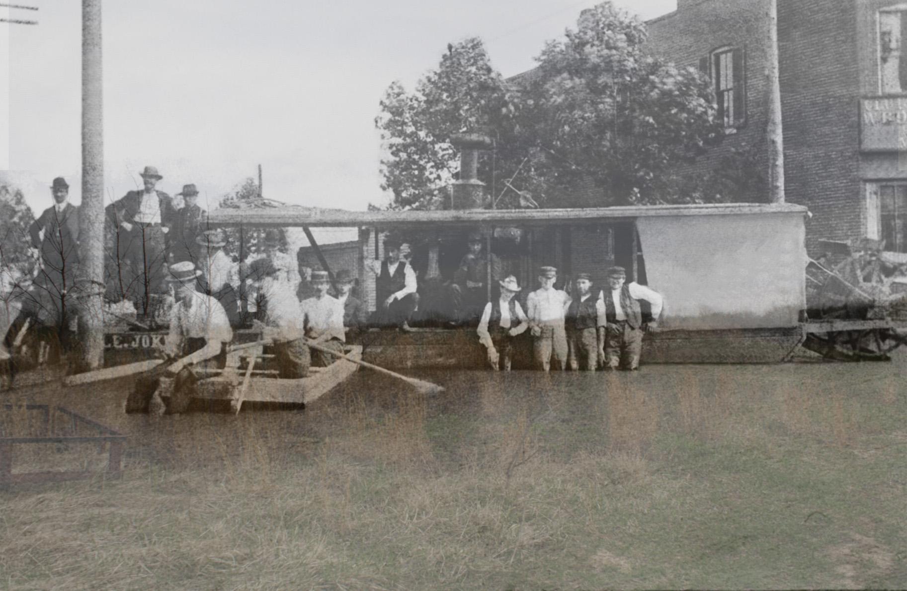 the levee broke -