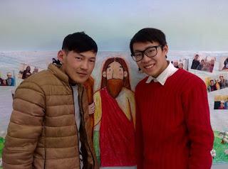 자야형제 (왼쪽) 와 친구