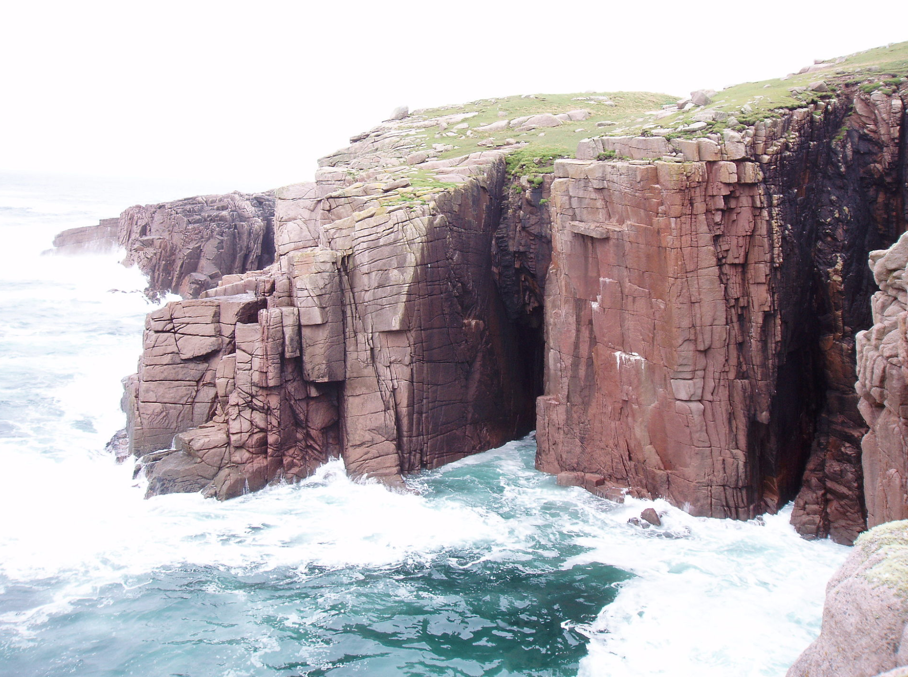 Gola sea-cliffs