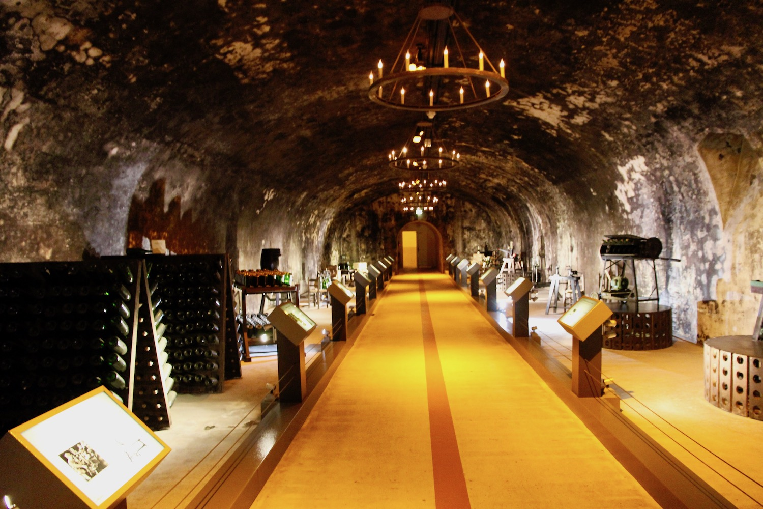 Museum deep in the caves of Remis