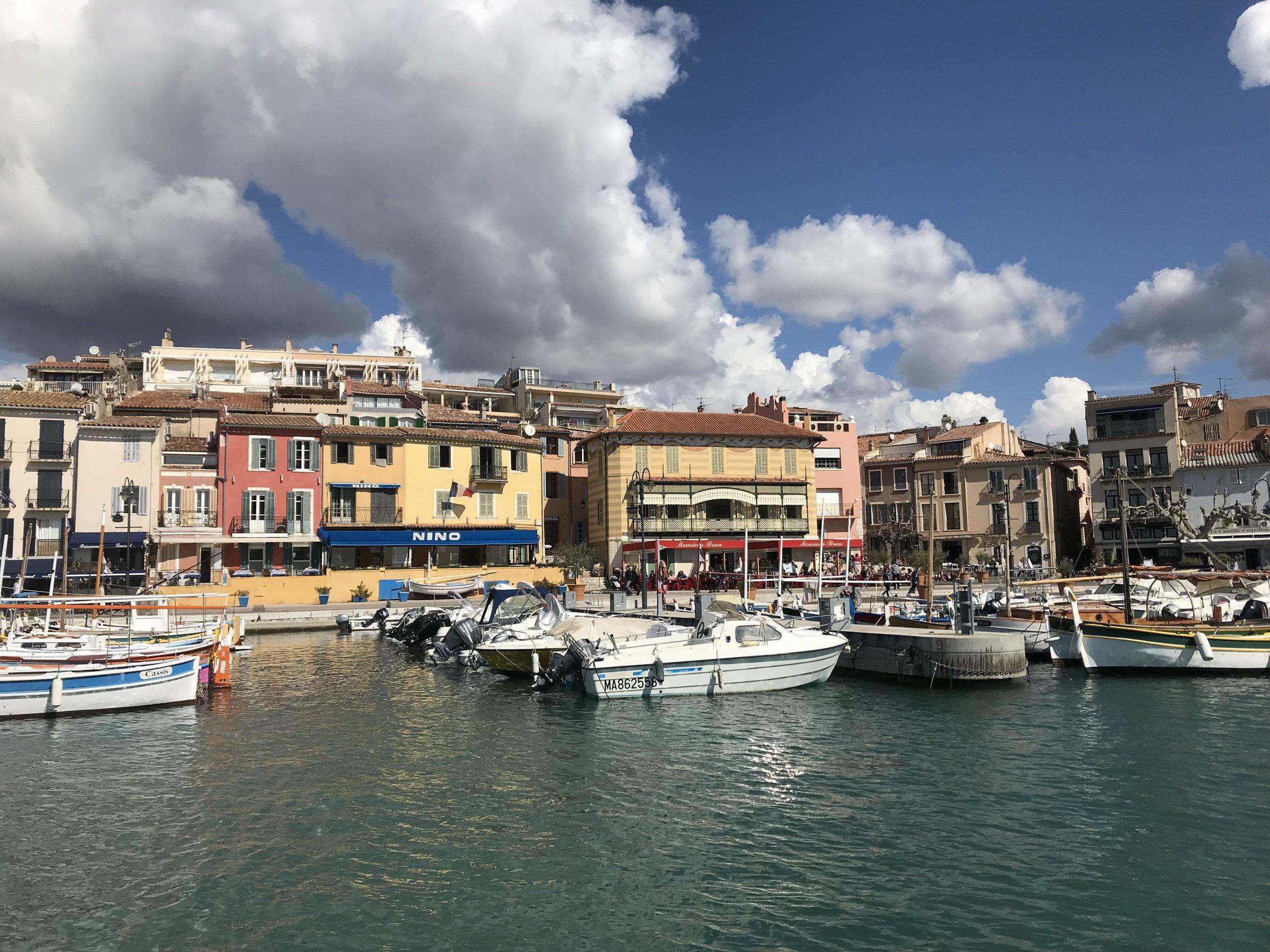 Cassis harbor.