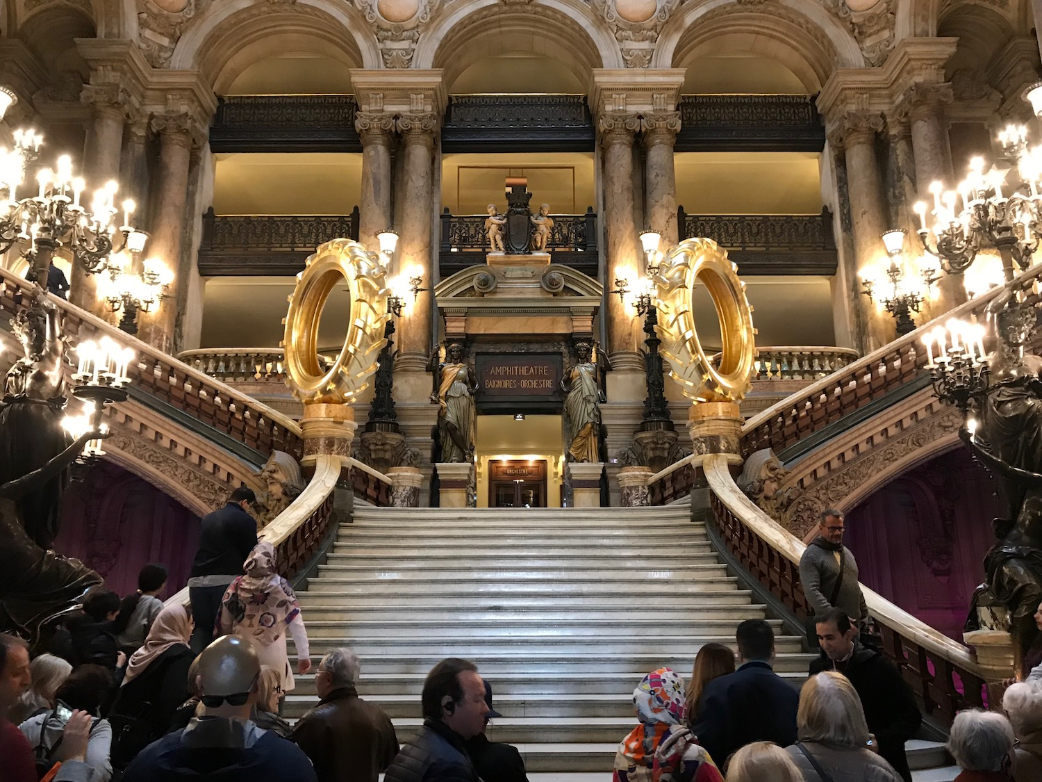 The Paris Opera House (Palais Garnier) Grand Staircase 2019