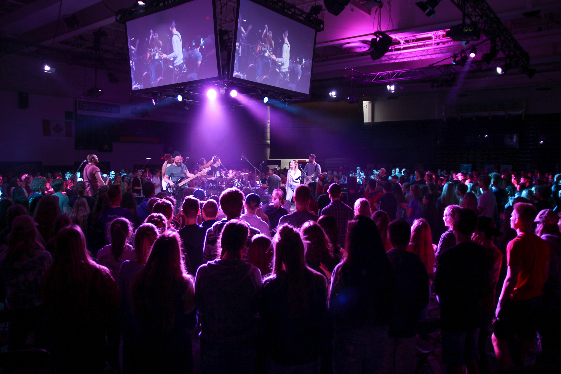 C4 Worship at All Ontario Youth Convention, Waterloo