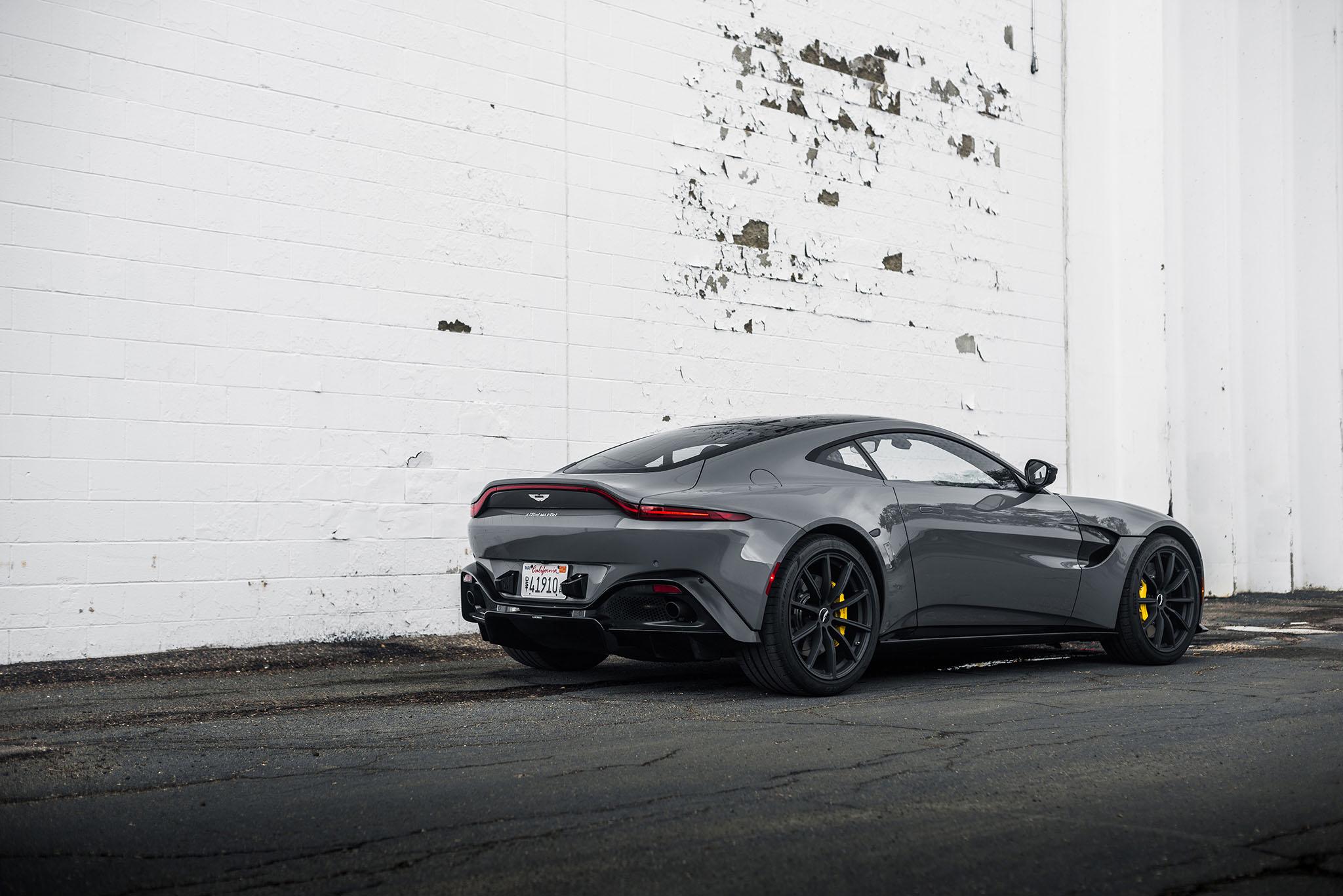 Aston Martin Vantage China Grey Alex Bellus Photography