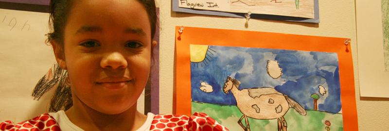 Elko County Student Art Exhibition.