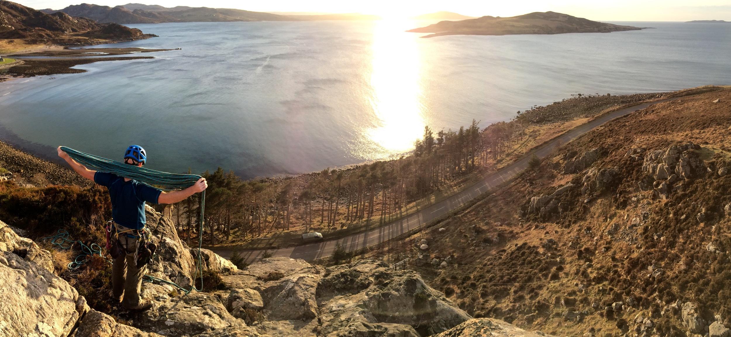 Rock climbing day trips