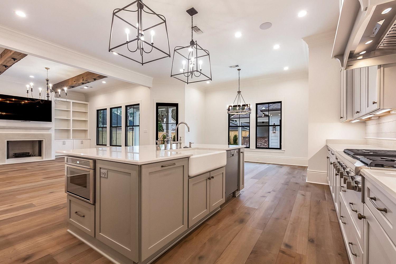 Open Floor Plan Kitchen >> Lighting 101 Open Floor Plans Elan Studio