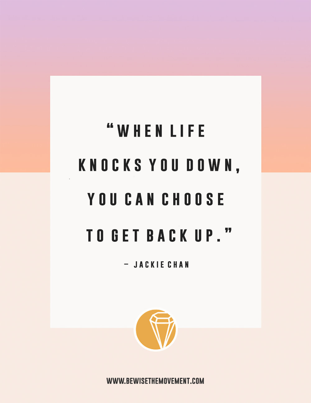 4 ways to get back up when life knocks you down