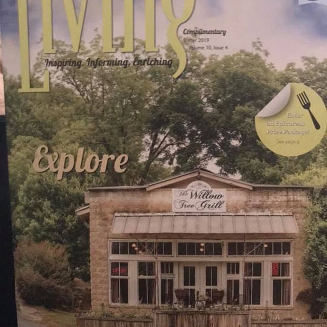 "We are honored to be featured along with The Willow Tree Grill in the latest issue Volume 10 Issue 4 of NW Georgia Living Magazines ""FOR THE LOVE OF FOOD: A FOODIE HITS THE ROAD SECTION."" If you get a chance, check it out. A great little publication for events, places and living in North West Georgia!"