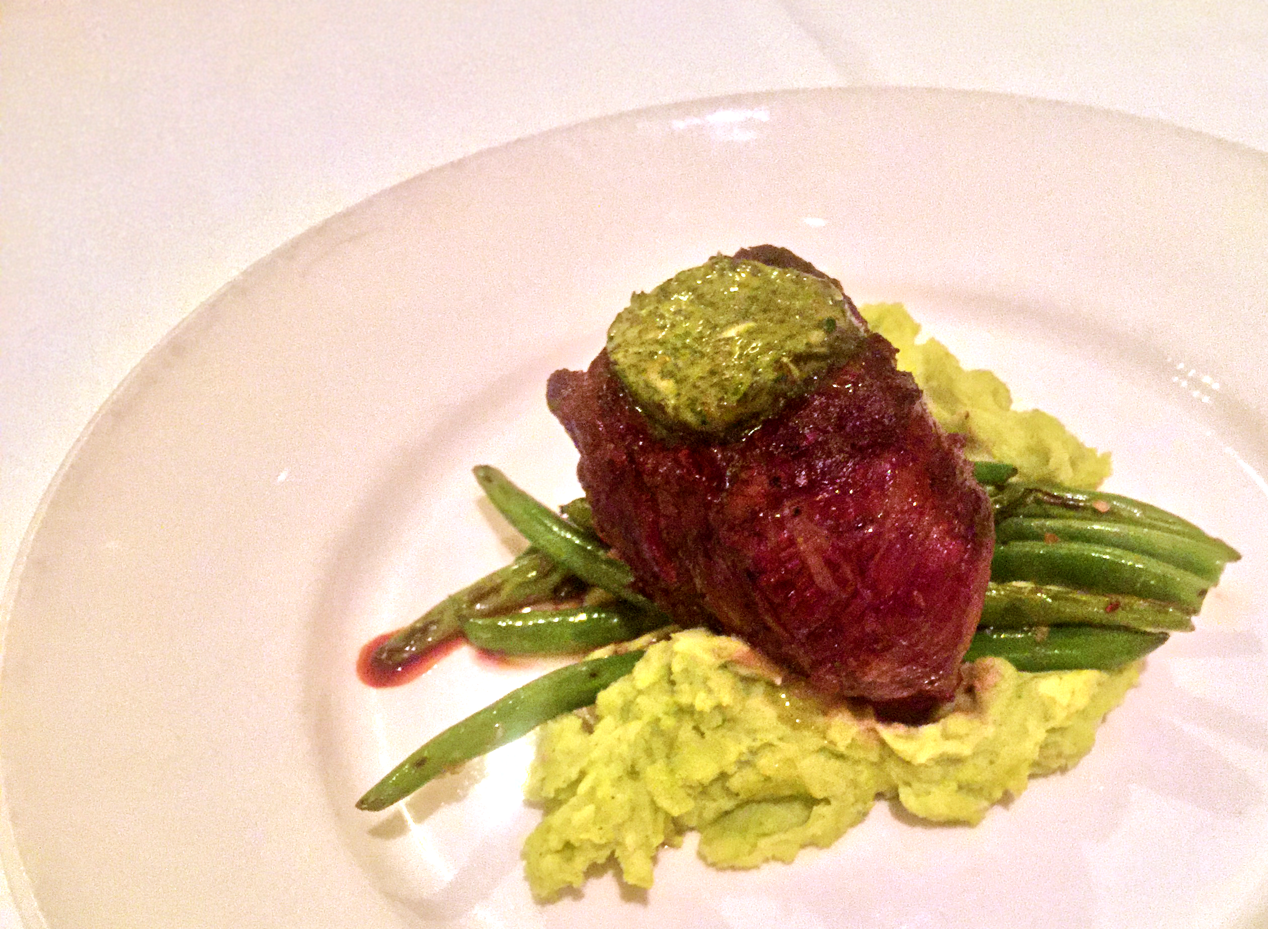 Hawaiian Grass Fed Filet Mignon at Merriman's