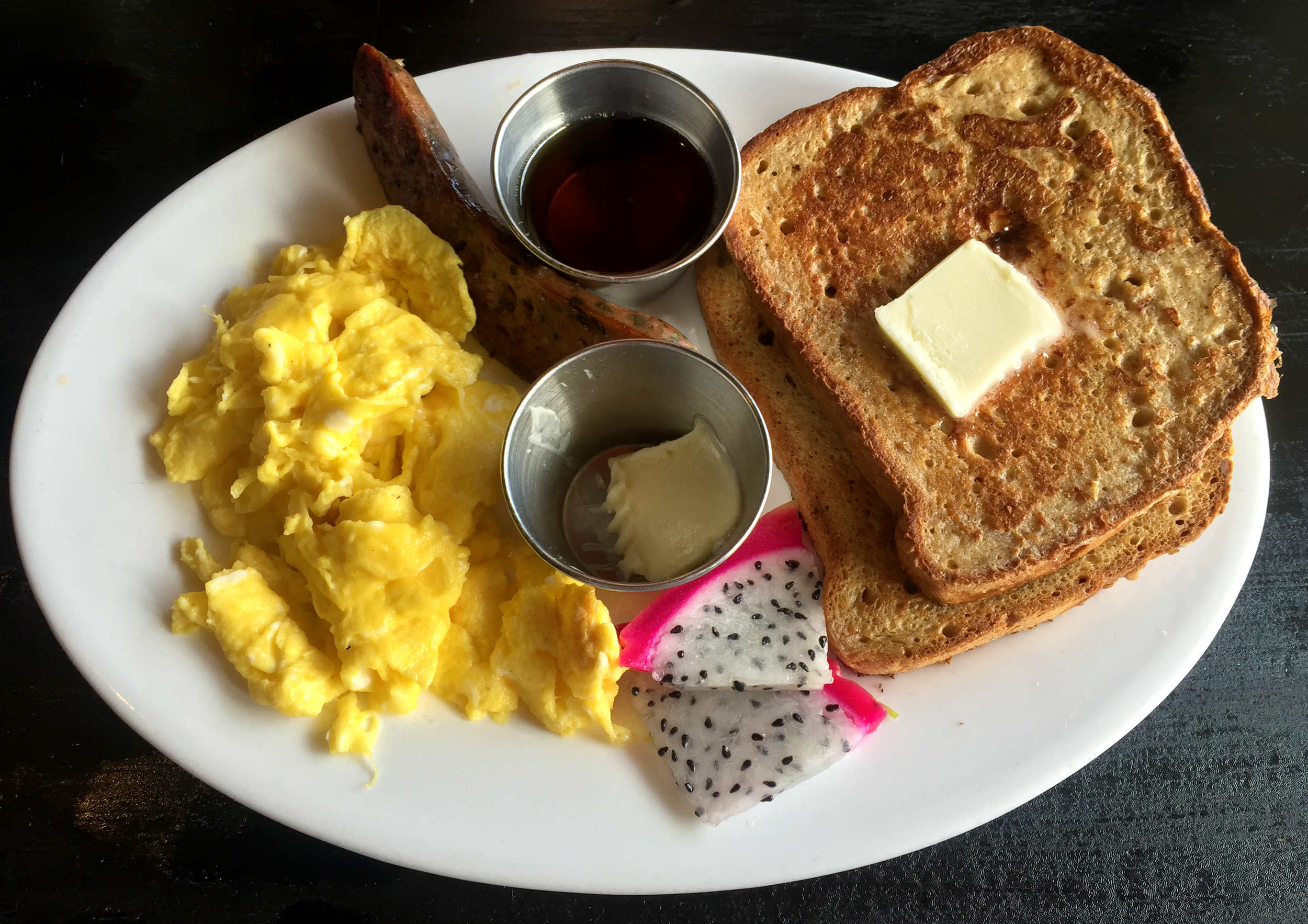 Flippen' French Toast at Conscious Culture Cafe