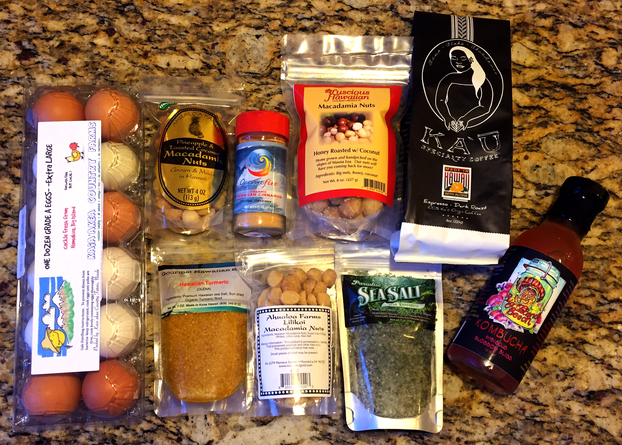 Haul from Island Naturals Market in Hilo