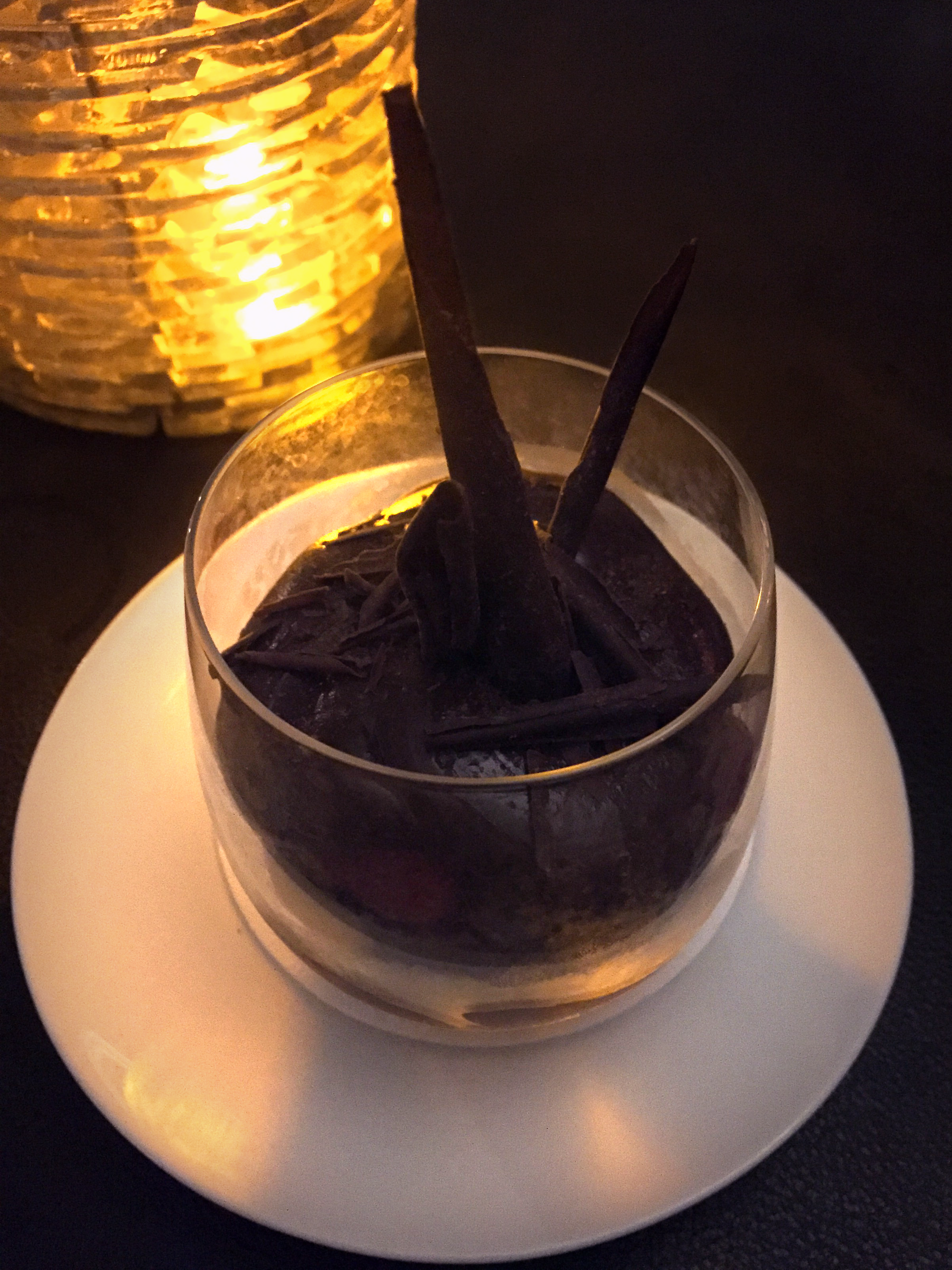 Chocolate avocado mousse from Duo