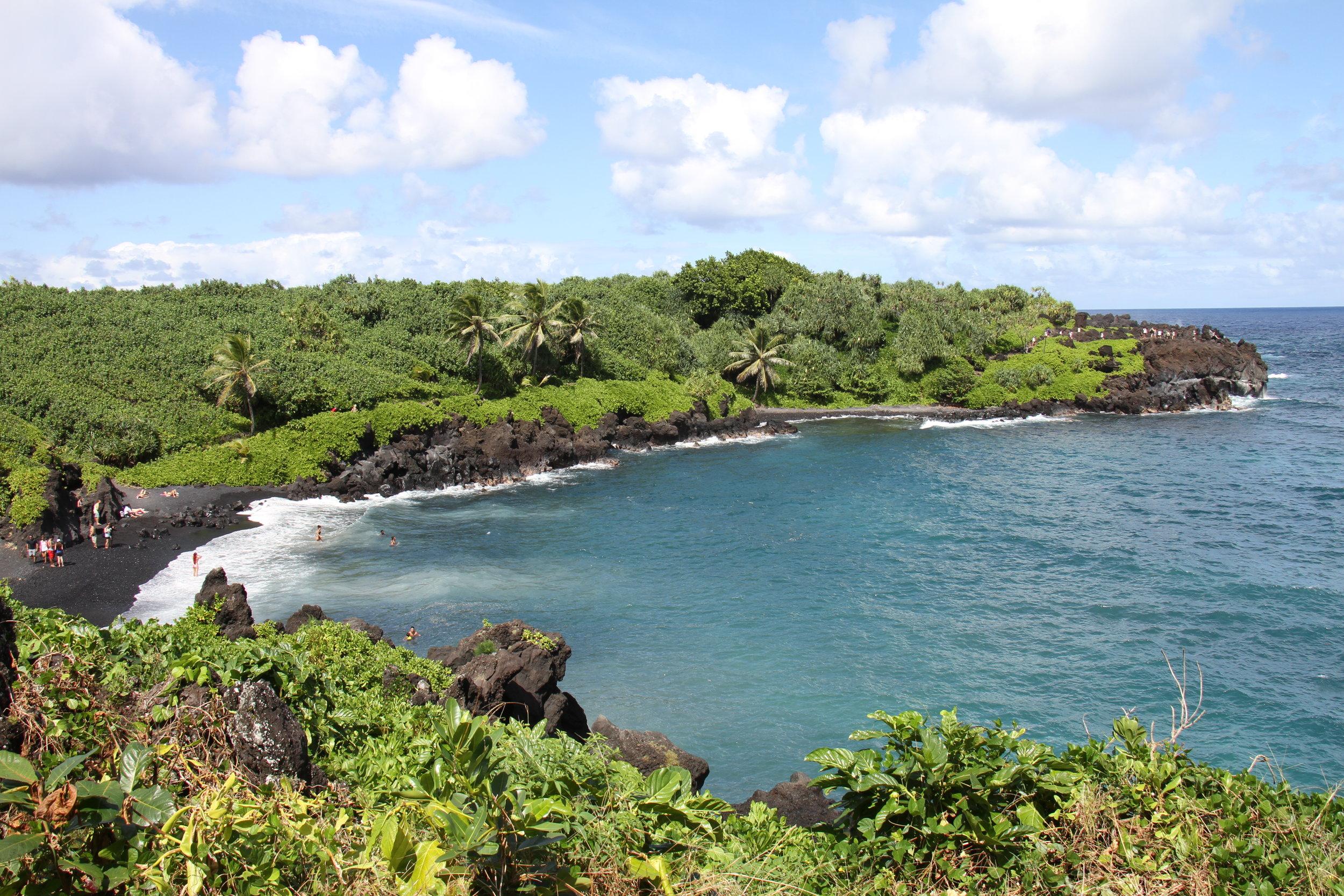 Road to Hana- Wai'anapanapa Black Sand Beach