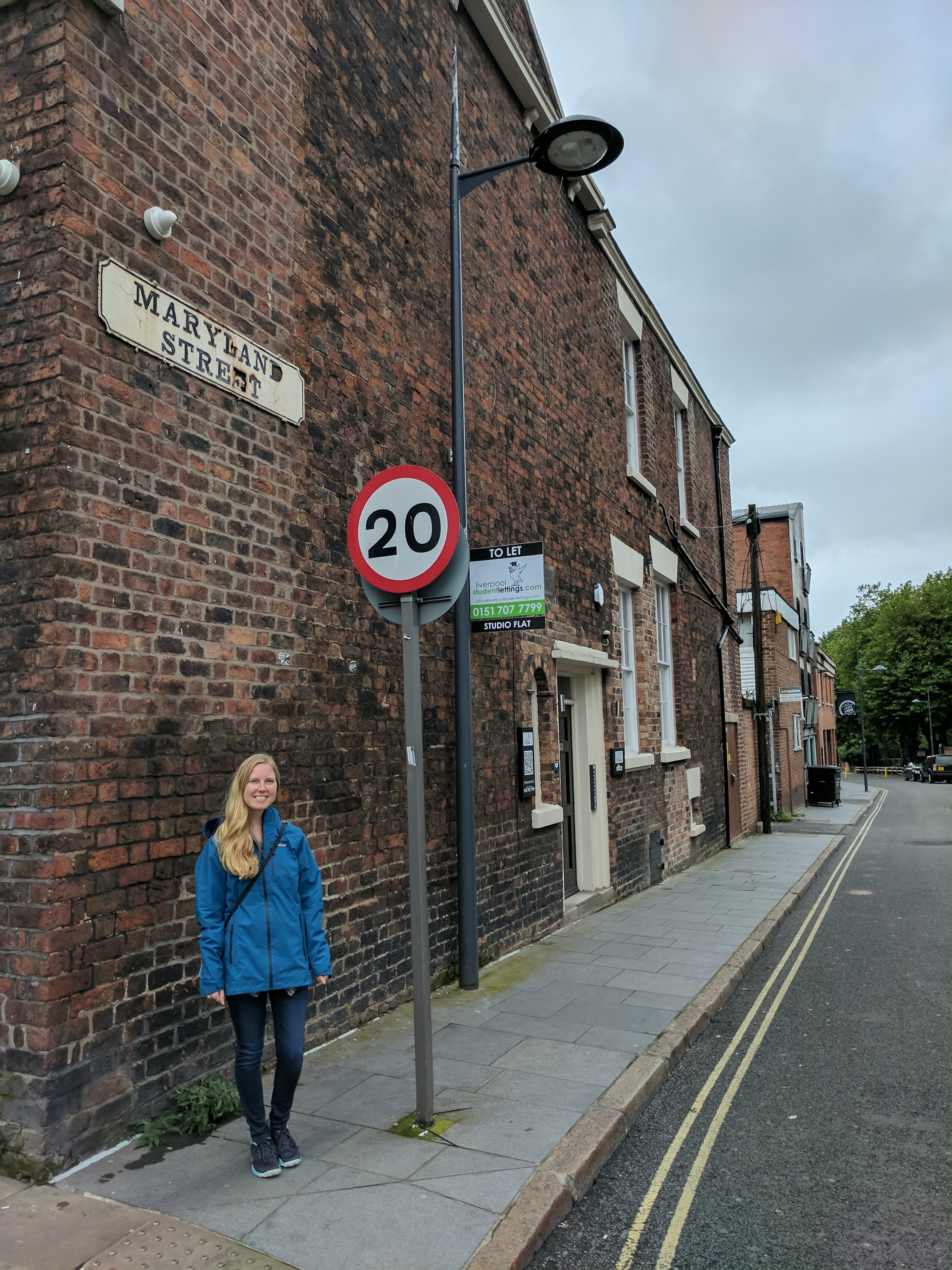 Maryland Street in Liverpool