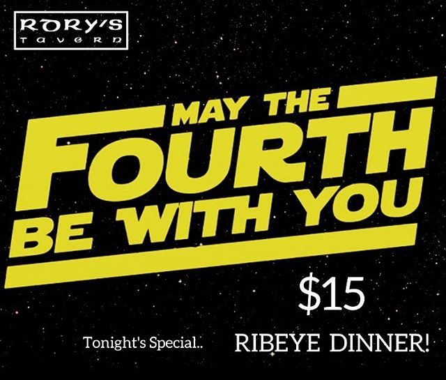 #dinner #ribeye #starwars #denver #colorado #maythe4thbewithyou