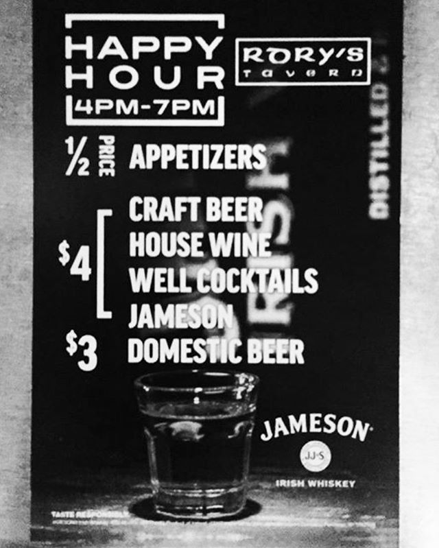 Happy Hour Starts @4! #happyhour #jameson #4 #yay #denver #colorado