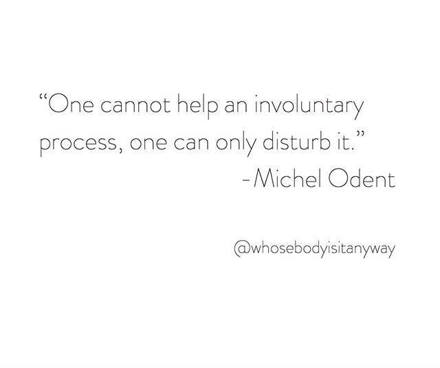 ▫️▫️▫️ Unlearning every damn day! ⠀⠀⠀⠀⠀⠀⠀⠀⠀ #obgyn #doula #midwife #birth #babies #michelodent #deprogram