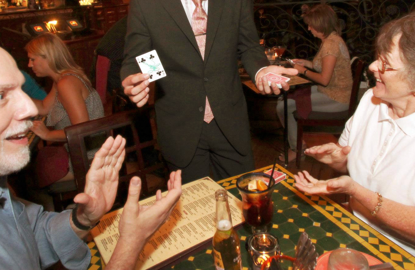 magician for sorority party