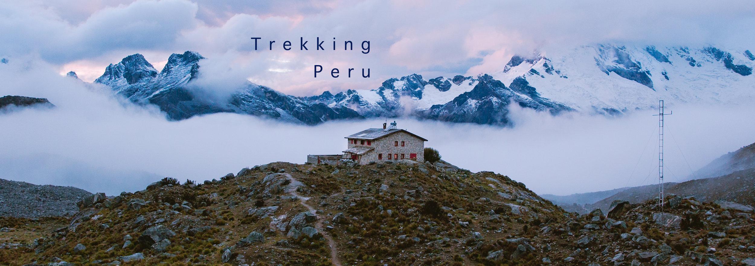 Trekking Peru with @lostintheforrest