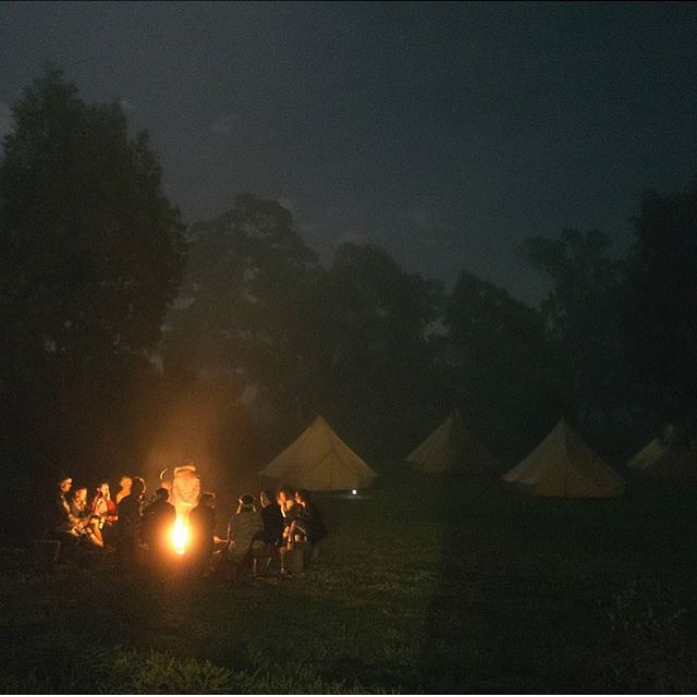 Photography workshop with Oli Sansom and Eric Ronald. Tents by Under Sky