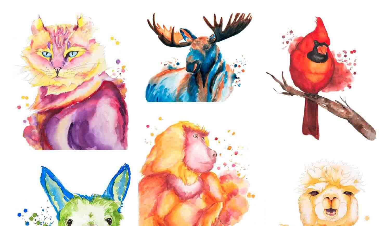 Boutique Aquarelles - Des affiches, de la papeterie, des articles pour la maison.De la couleur. Plein les yeux.