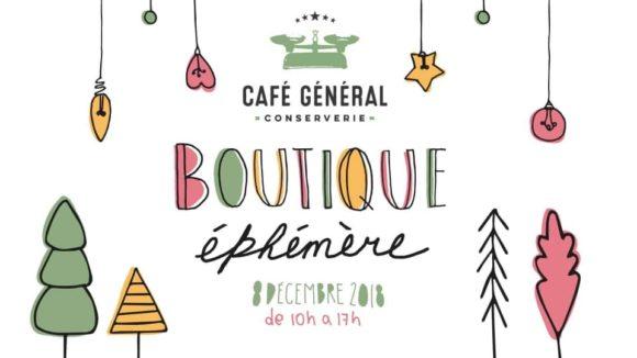 Boutique éphémère - Article paru dans LeCentro.co présentant la 4e édition de la boutique éphémère au Café Général.