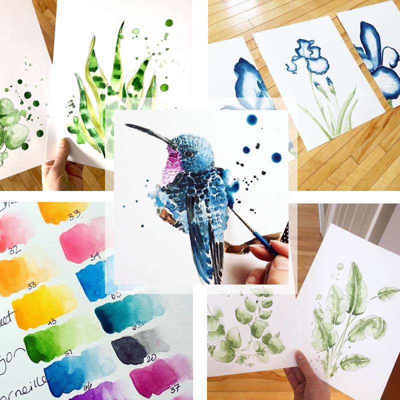 Custom Watercolor - Get your dream watercolor painting done !