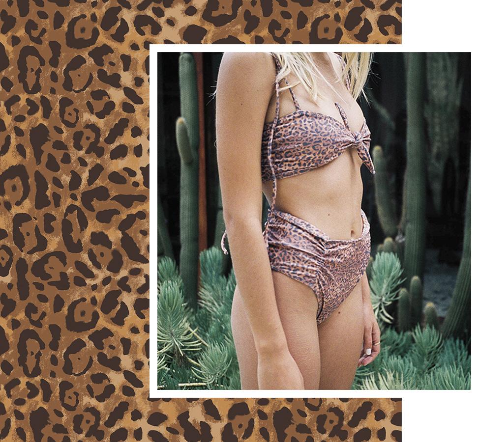 Custom Leopard Print Design. By The Design Parlour, textile print design studio Melbourne