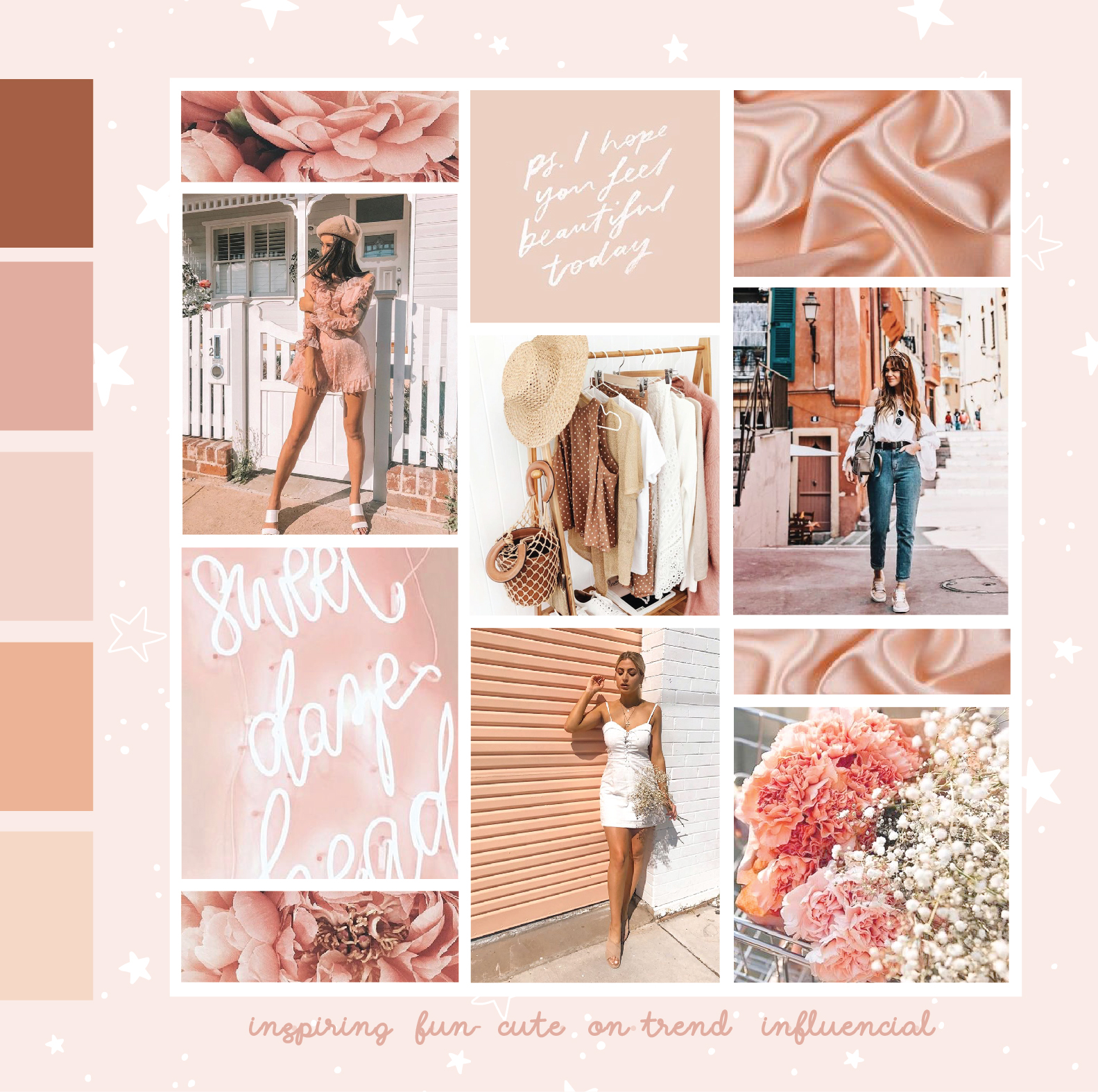 Mood Board Created for Sundae Muse Brand Direction