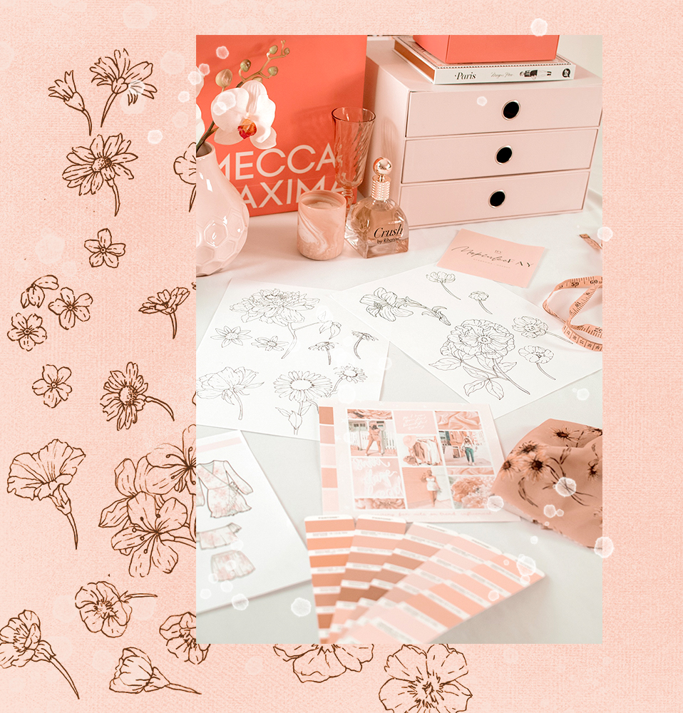 We are The Design Parlour - With a specialisation in creating distinctive graphic and textile designs, we partner with forward-thinking fashion and lifestyle brands with their vision at the heart of everything we do.