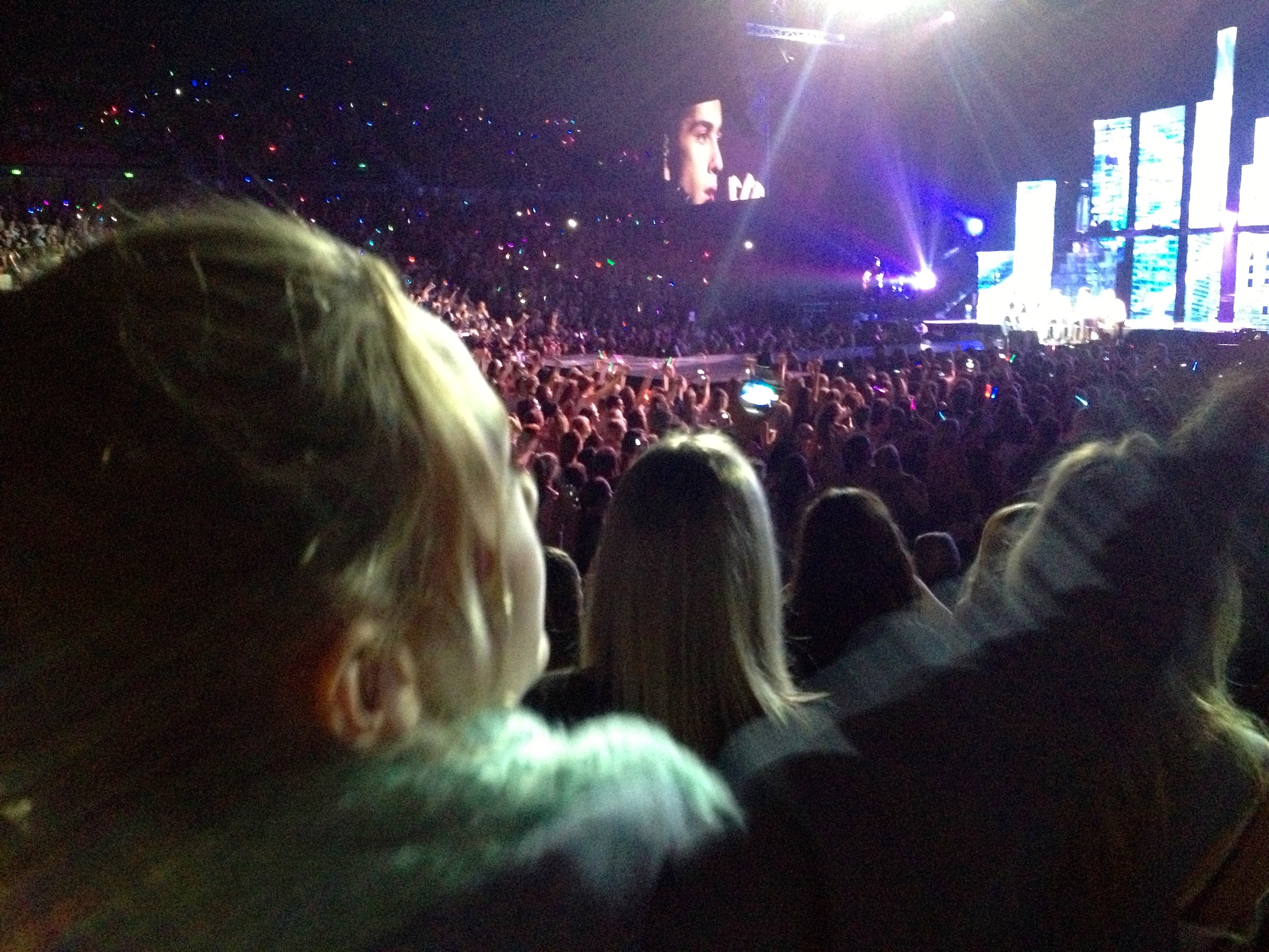 Abi at the one concert she got to go to - One Direction October 2013
