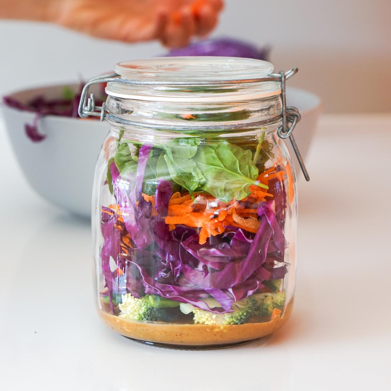 recipe: raw satay jar with keira mason -