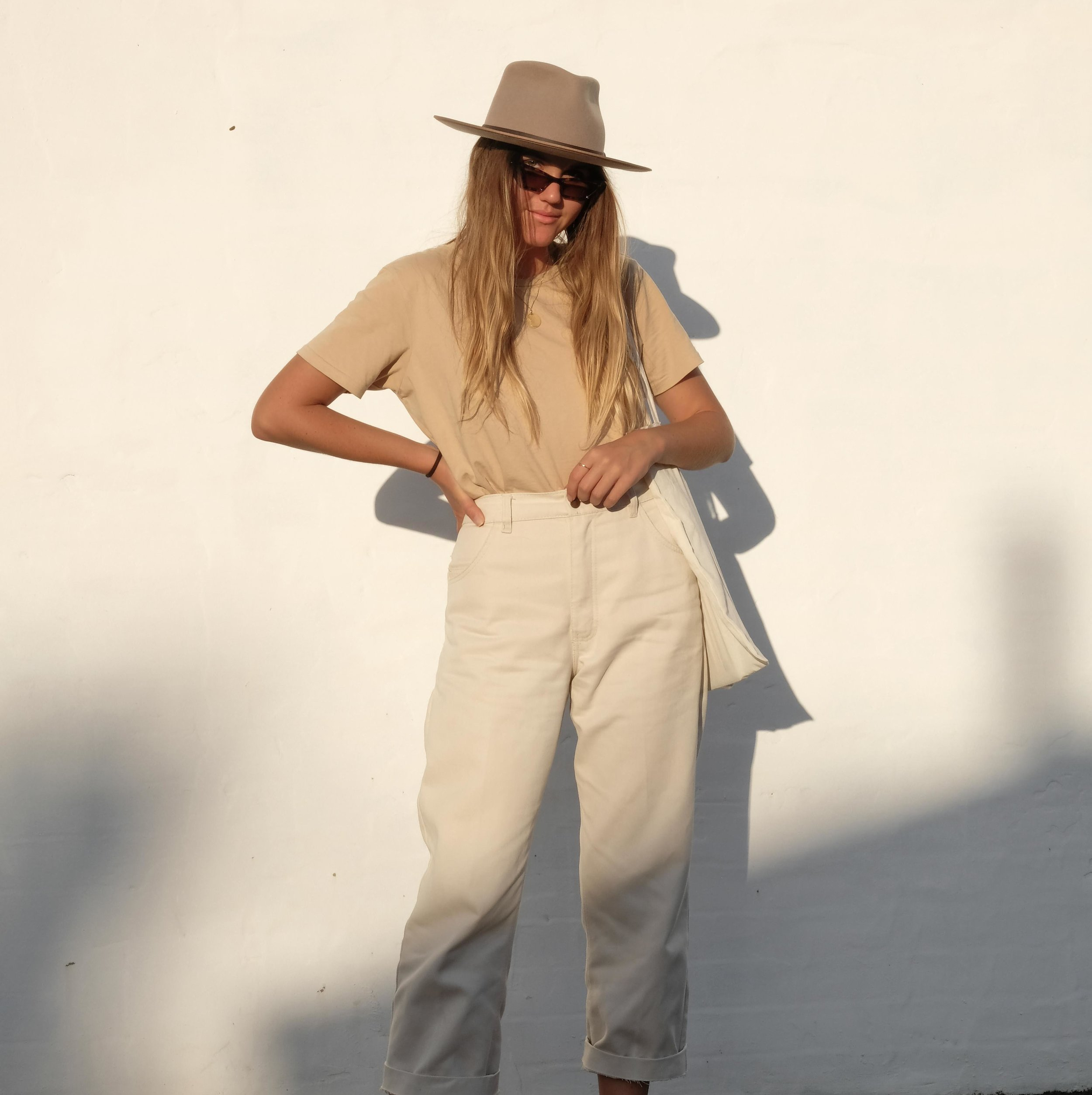 DIY: Two ways to upcycle an oversized pair of pants -