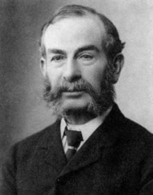 Master of the friendly muttonchops, Edward J. Routh