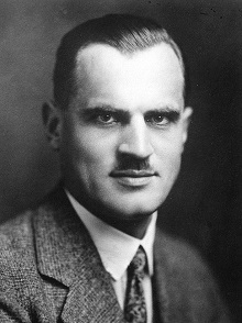 Arthur Compton, overall a nice guy with a very unfortunate taste in mustaches.