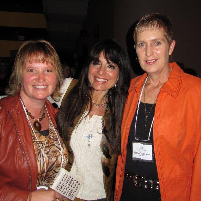 Lisa and Lisa Bevere and Winla.jpg