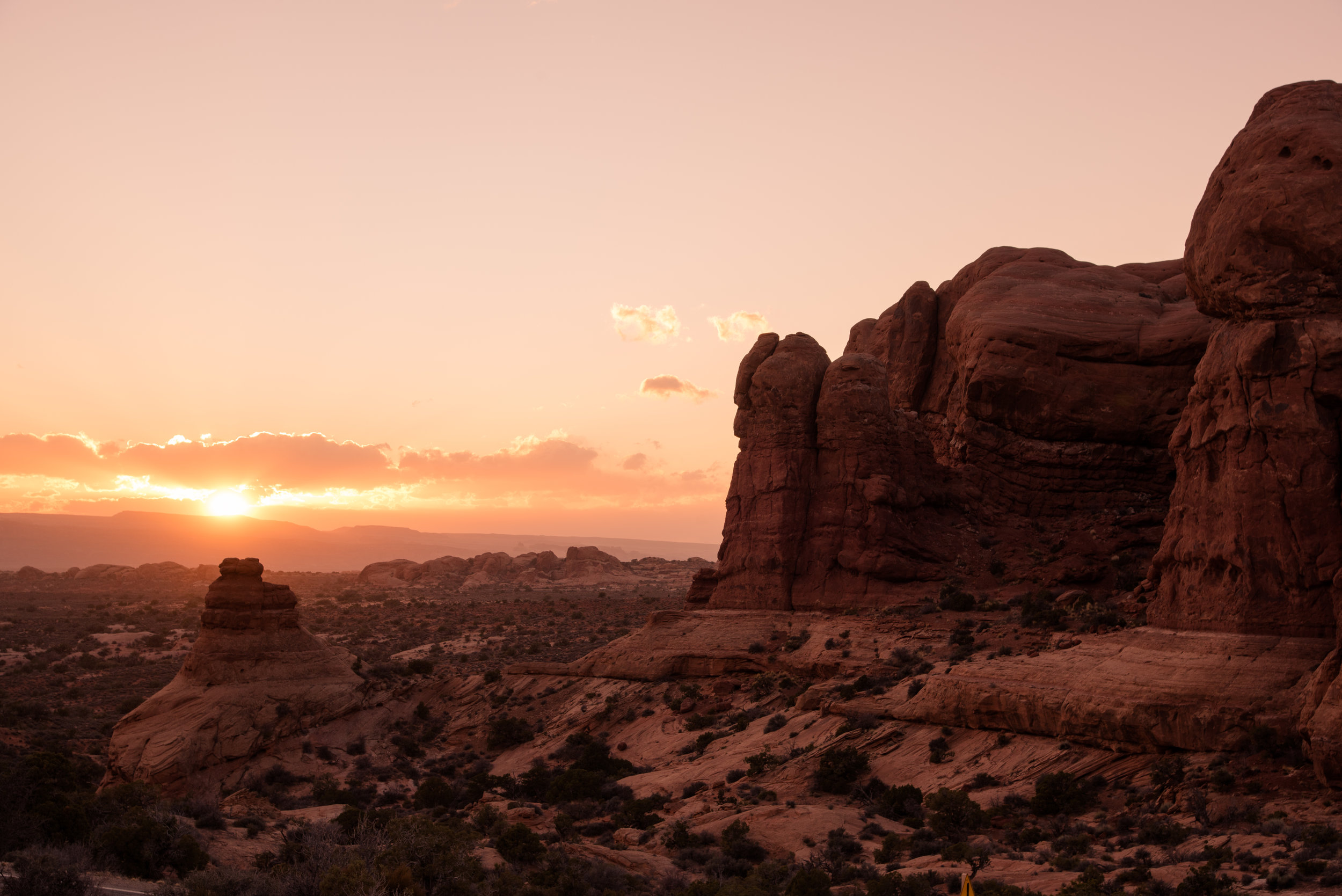 Red Rock Sunset.