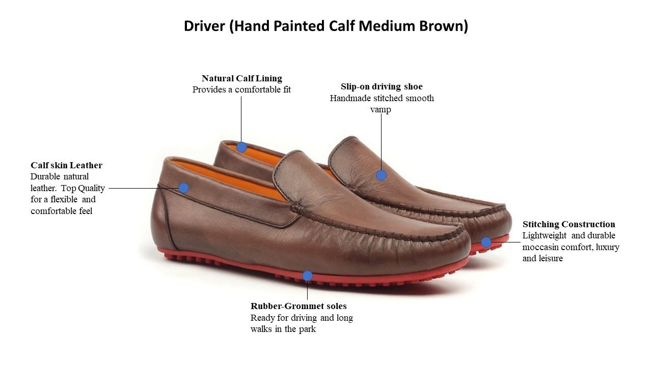 Driver (Hand Painted Calf Medium Brown).jpg