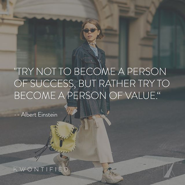 Strive to become a person of value. . . . 📷: @vogue #kwontified #fashion #style #fashionweek #instagood #stockholmfashionweek #outfitoftheday #stockholm #ootd #streetstyle #streetfashion #instafashion #fashiongram #fashionblog #fashionstyle #fashionista #fashionblogger #highfashion #styleblogger #styleinspo #stylelookbook #fashionlookbook #motivation #motivationalquote #success #inspiration #inspirationalquote #quoteoftheday #vogue #hardwork