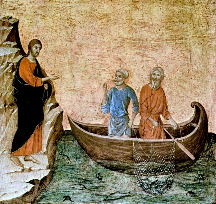 Christ Calling the Apostles Peter and Andrew ( Vanderbilt University Library )
