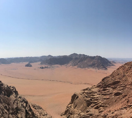 Wadi Rum Nature Tours - Jabal al Hash Views