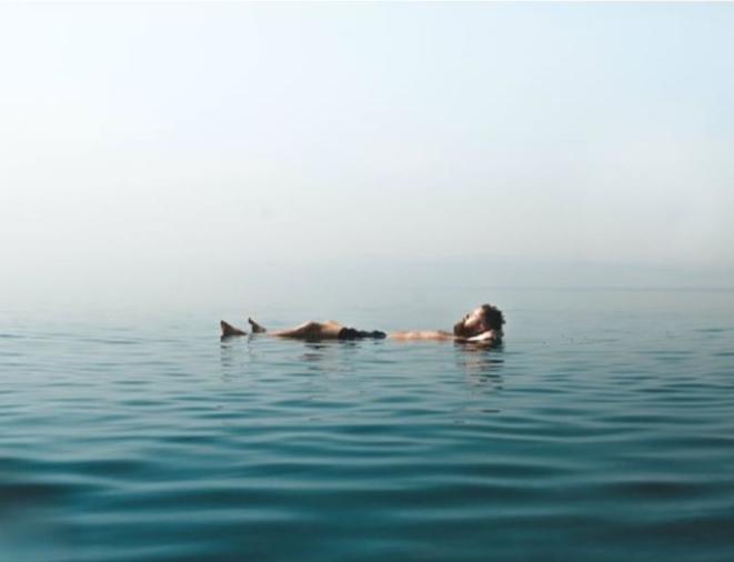 Floating on the Dead Sea. Photo taken by Joe Parker,  @joe.xplores on Instagram .