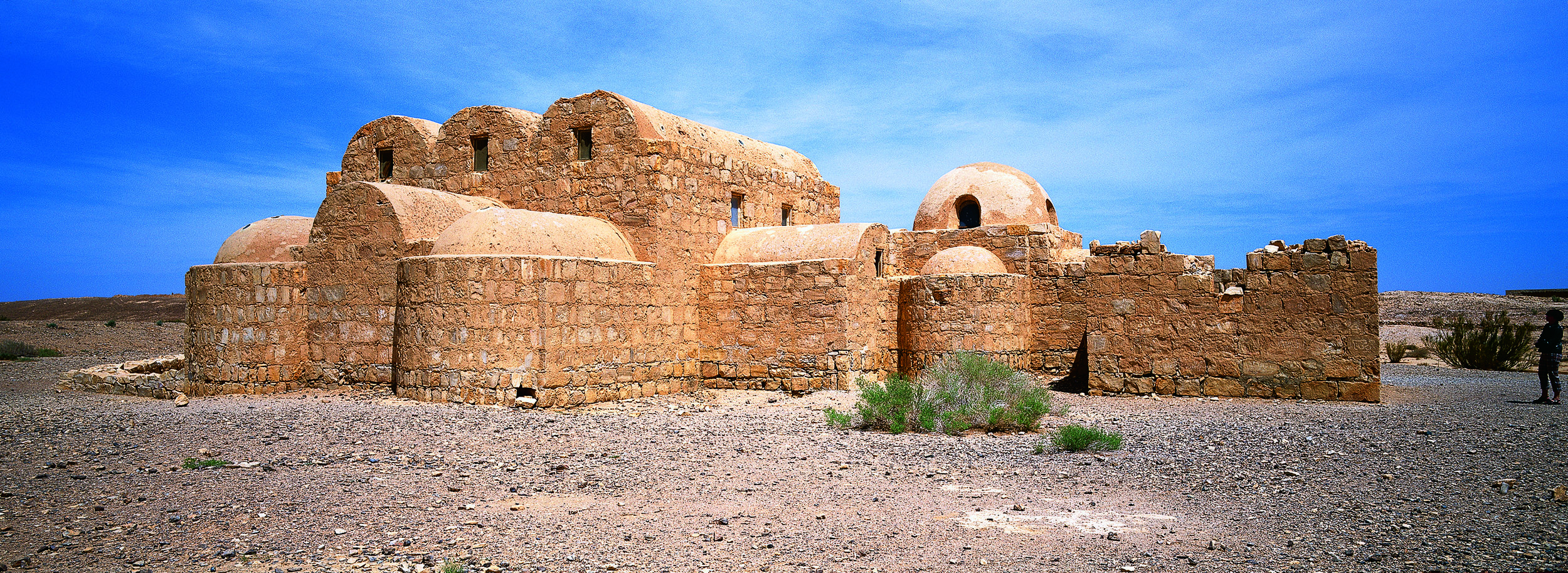 Quseir Amra. Photograph by JoTB, distribute under  CC BY-SA 3.0  license.