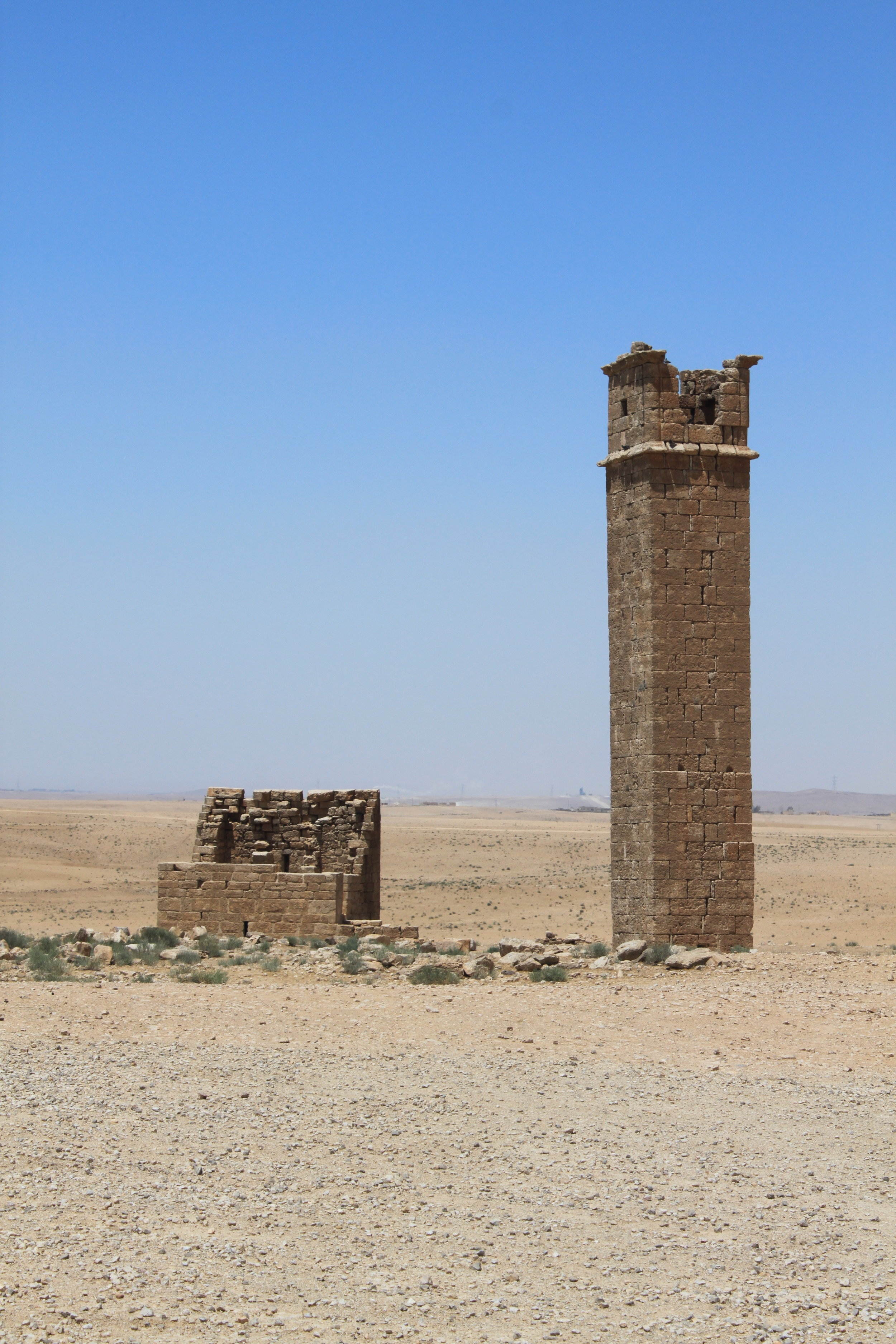Stylite tower at Um er-Rasas. Photograph by Professor Bjorn Anderson.