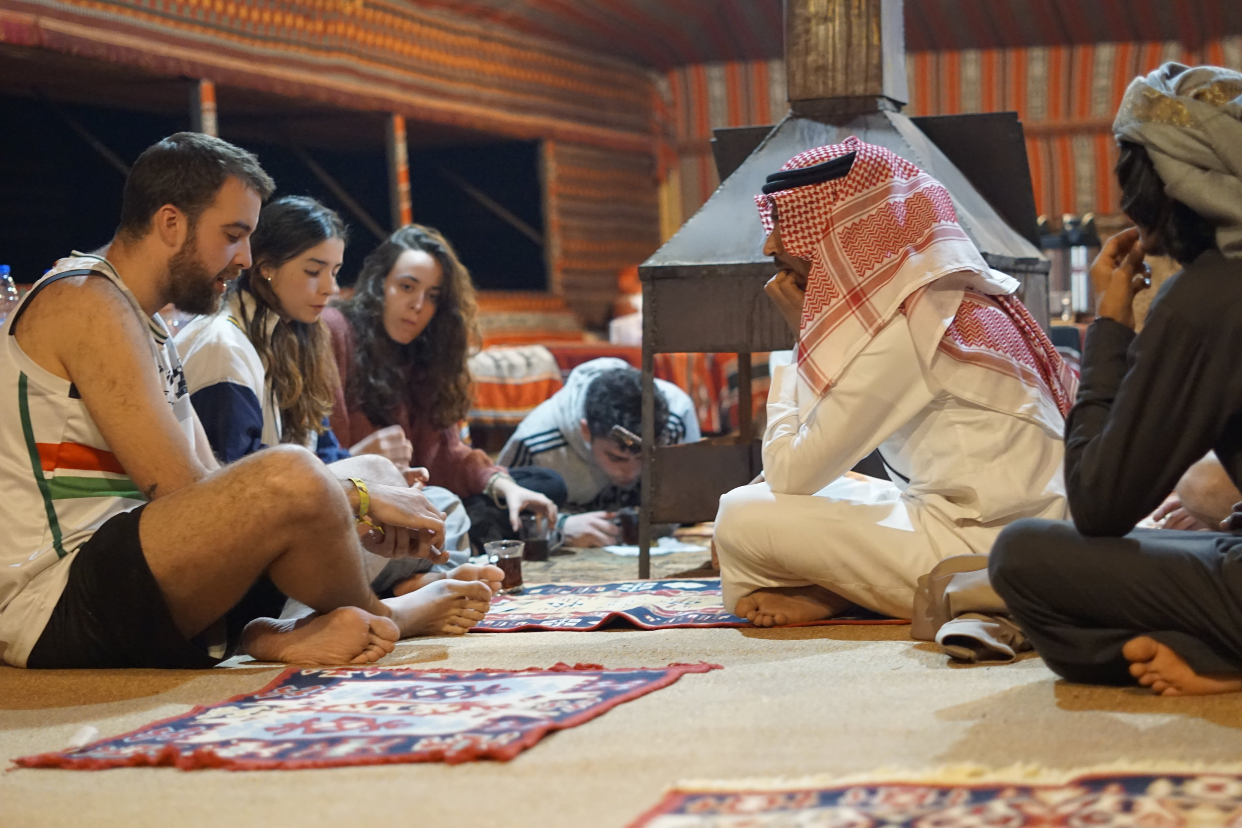Copy of Socializing with the Bedouins.